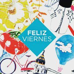 ¡Y llegó el viernes! #felizviernes #collage #ilustración #illustration
