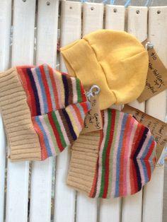 Baby hats wool rainbow www.jamnee.etsy.com