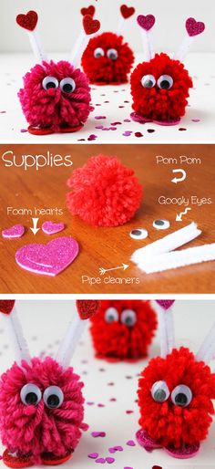 love yarn letters | click pick for 26 diy romantic valentines day, Ideas