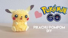 DIY Pokemon GO Pikachu Pom Pom Craft                                                                                                                                                                                 Mais