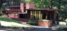 Manson House. 1938. Wausau, Wisconsin. Usonian Style. Frank Lloyd Wright.
