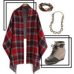Fall Rainy Day Style by imprintfashion on Polyvore featuring polyvore, fashion, style, SOREL and Chloe + Isabel