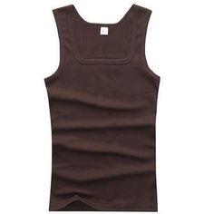 Mens Outdoor Sport Funny Deep Sea Fish Tank Top Vest T-Shirt Fast Drying Stylish Sleeveless Tee