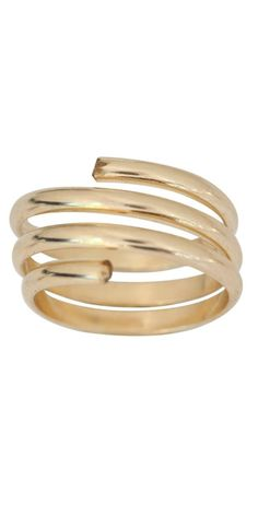 Roy Rose Jewelry 14K Yellow Gold Mill Grain Adjustable Toe Ring