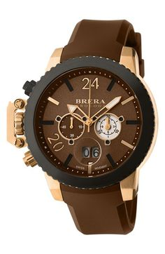 Brera 'Militare II' Round Chronograph Watch, 48mm available at #Nordstrom