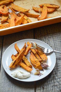 Pieczone bataty (słodkie ziemniaki)