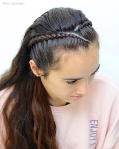 "Braids & Hairstyles on Instagram: ""HEADBAND inspired by my sweet and talented friends Leanne @3littlegirls_hair and Noemi @noemi.espinosa.29 . LET ME KNOW: My daughter is in…"""