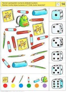 Piccolo: appel kaart 14 Home Activities, Brain Activities, Preschool Math, Kindergarten, File Folder Activities, Critical Thinking Skills, Literacy Skills, My Little Baby, Speech Therapy