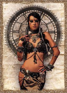Vesna Zorman of Ambrosia Glam Tribal by edlinx.deviantart.com on @deviantART