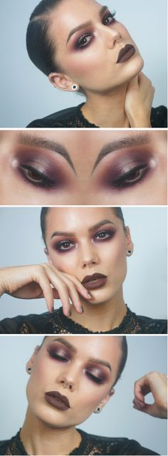 Autumn look for brown eyes ... videotutorial check here: https://www.youtube.com/watch?v=IcgEMntU6IM