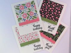 Tin of Cards (sentiment), Pretty Petals DSP Stack - Gift Set (video)