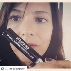 #Repost @mlovesgreen with @repostapp  Look at my Minnie Mouse #lashes ! I have been cheating on my fave from Well People (shhhh)  But i had to share this awesome German find from Benecos @benecos_de It is made with organic jojoba oil to nourish your lashes there is no clumping absolutely no feathering and best of all it makes your lashes super long.  There are no parabens mineral oils dimenthicone or mercury.  Its is cruelty free and gluten free.  At truenatural.com you can find where  to…