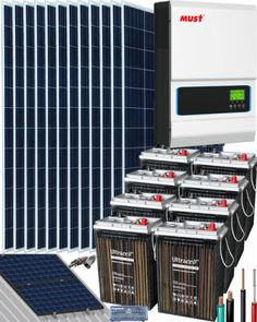 Kits Solares Vivienda Permanente | Comprar Kits Solares Vivienda Permanente al Mejor Precio Kit Solar, Solar Projects, Sistema Solar, Music Instruments, Sport, Solar Battery, Solar Panels, Perms, Get Well Soon
