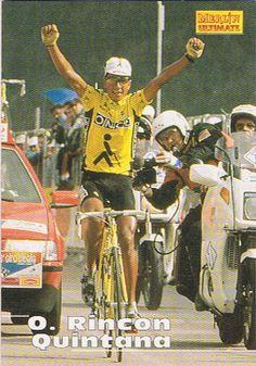 """Ciclismo Colombiano en Twitter: """"Oliverio Rincon, Giro de italia 1995 #Recuerdos…"""