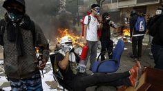 ¡EN DICTADURA NO SE NEGOCIA! Crisis en Venezuela: protestas en Táchira exigiendo liberación de alcalde