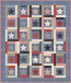 Stars of Glory Quilt Pattern by Sweetwater