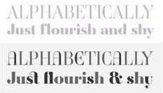 Ambroise, an exquisite Didot font in 14 series & 3 widths - Jean François Porchez
