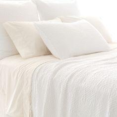 Pine Cone Hill Kerala White Matelasse Coverlet. #laylagrayce #new #pineconehill