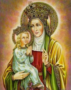 Lives of the Saints for every day - Saint Anne, Mother of the Blessed Virgin Blessed Mother Mary, Blessed Virgin Mary, Religious Images, Religious Art, Catholic Saints, Roman Catholic, St Anne Prayer, Saint Joachim, Jesus Father