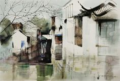 Wang Yuyuan color ink Chinese painting works of art (3)