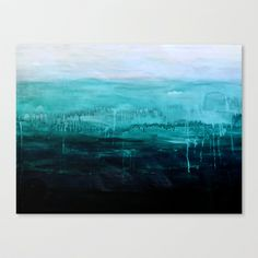 Sea Picture No. 2 Stretched Canvas by Prelude Posters - $85.00