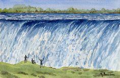 Victoria waterfall-Zambeze