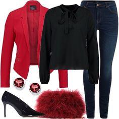 cca2b709555 Tacco e punta  outfit donna Trendy per tutti i giorni