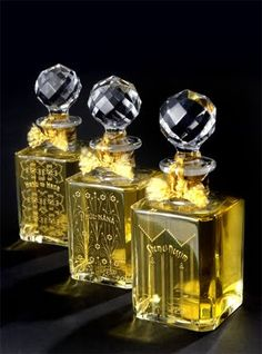 Baccarat Crystal Perfume Bottles GROSSMITH