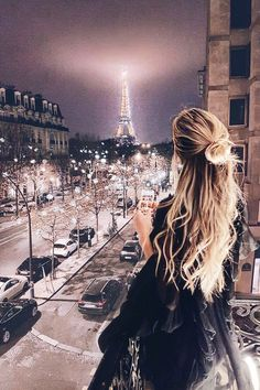 paris view from balcony . paris view from window . One Photo, Modeling Fotografie, Paris By Night, Adventure Is Out There, Oh The Places You'll Go, Belle Photo, Adventure Travel, Adventure Time, Travel Photography