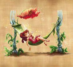 New Disney Art Tinkerbell Pixie Hollow Ideas Tinkerbell And Friends, Tinkerbell Fairies, Disney Fairies, Disney Pixar, Arte Disney, Disney Art, Disney Villains, Hades Disney, Princesas Disney Dark