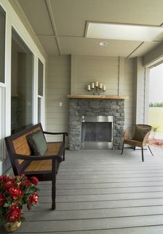 Keep warm with this outdoor fireplace and enjoy your morning coffee, or a glass of wine as you watch the sunset!  Estes Builders designs and builds new homes in Port Angeles, Sequim, Port Townsend, Kingston, Hansville, Poulsbo, Bainbridge Island, Bremerton, Silverdale, Port Orchard and surrounding Clallam and Kitsap Peninsula neighborhoods.