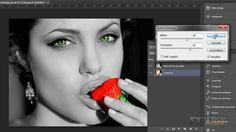 Tutorial Photoshop // Efeito Destaque Colorido em Preto e Branco.