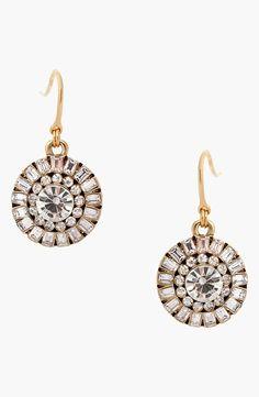 Heart of Glass Drop Earrings