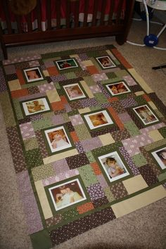 Photo Quilt - Custom - King via Etsy