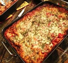 Hosts are sharing their favorite Christmas (in July) Recipes Antonella's Famous Lasagna @QVC