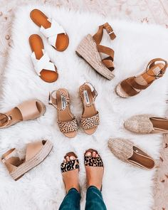 Since it's Tuesday and I haven't done a in a while I figured I would share my favorite neutral spring shoes✨ And Leopard is… Source by shoes Spring Shoes, Summer Shoes, Summer Outfits, Crazy Shoes, Me Too Shoes, Looks Style, My Style, Mode Shoes, Shoe Closet
