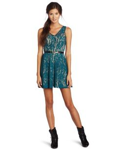 My Michelle Juniors Lace Dress « Clothing Adds Anytime