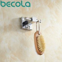 Shipping Becola Clothes Hook Solid Brass Chrome Finish Bathroom Accessories Robe Hook B-87015