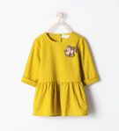 POLKA DOTS DRESS WITH APPLIQUÉ - Dresses - Baby girl (3 months - 3 years) - KIDS | ZARA United States