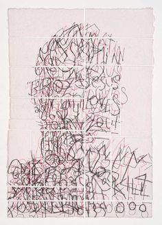 """Physical graffiti: Artist Ben Durham's """"Untitled 7"""" treats the form as """"real-time mapmaking."""" - Ben Durham"""