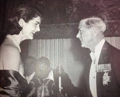 Jackie and the Duke of Windsor