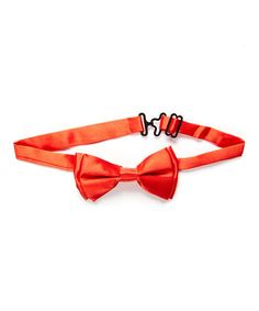 This Red Satin Bow Tie is perfect! #zulilyfinds