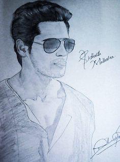 It's Bollywood Star Siddharth Malhotra!! How's his portrait!? ;)