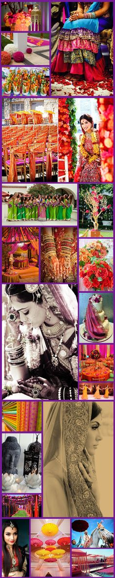 Inspiration Board Indian Summer Wedding