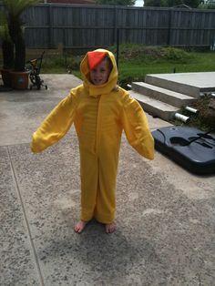 Duck costume Farm Animal Costumes, Duck Costumes, Farm Animals, Halloween, Fashion, Moda, Fashion Styles, Fashion Illustrations, Spooky Halloween