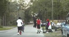 Someone Called 911 Over Kids Playing Basketball, And This Cop Responded By Throwing Down A Dunk - Yahoo