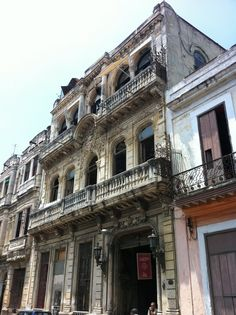 La Guarida, Havana on Emeril Varadero, Cuba Photography, Spanish Galleon, Cuba Travel, Havana Cuba, Quebec City, Gulf Of Mexico, Caribbean Sea, Skyline