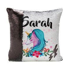 Hey, I found this really awesome Etsy listing at https://www.etsy.com/uk/listing/557792803/unicorn-pillow-reversible-sequins