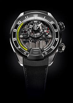 HYT ne fait rien comme tout le monde notamment avec sa nouvelle montre la H4 Metropolis. La bonne nouvelle c'est qu'elle donne l'heure. Pour le reste, je vous laisse voir de quoi elle est capable, car son prix (90 000 euros) et sa rareté (100 exemplaires) en font une pièce d'e...