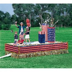 Our Best 4th of July Parade Float Ideas